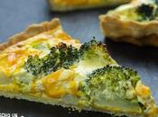 Receta quiche brócoli queso cheddar
