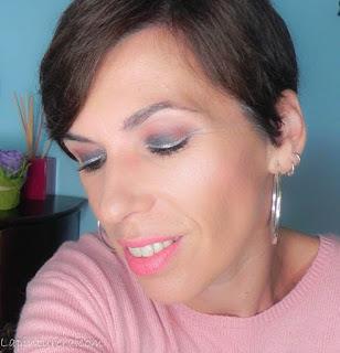 Maquillajes de fiesta con un toque diferente (II): Ahumado negro con eyeliner plata