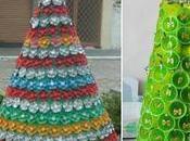lindos adornos navideños botellas vasos reciclados