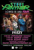 Steel Panther y Fozzy de gira por España de la mano del Resurrection Fest