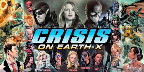 MEGA CROSSOVER DE SERIES DC 2017: SUPERGIRL + THE FLASH + ARROW + LEGENDS OF TOMORROW