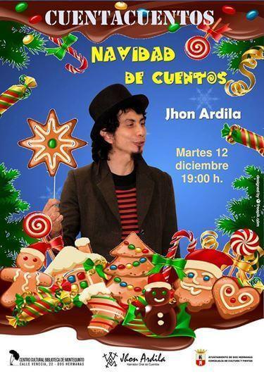 Cuentacuentos en familia: 'Navidad de Cuentos' con Jhon Ardila