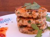 Tortas salmón asiáticas (Quick Asian fishcakes)