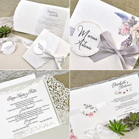 Invitaciones clásicas y elegantes