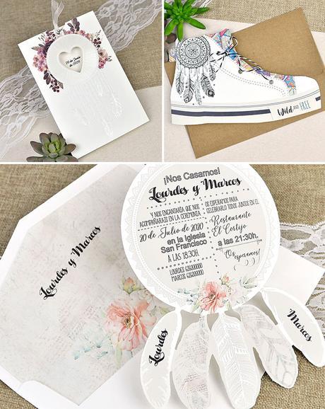 invitaciones de boda atrapasueños