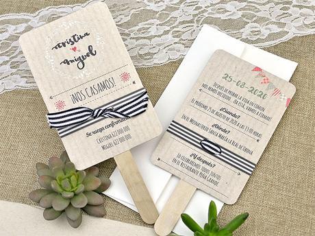 Invitación de boda paipai