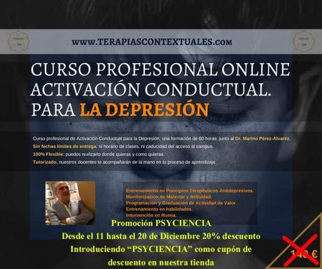 Curso online: Terapia de activación conductual para la depresión