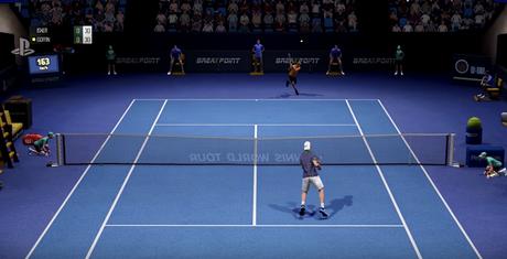Tennis World Tour se luce en acción en este vídeo
