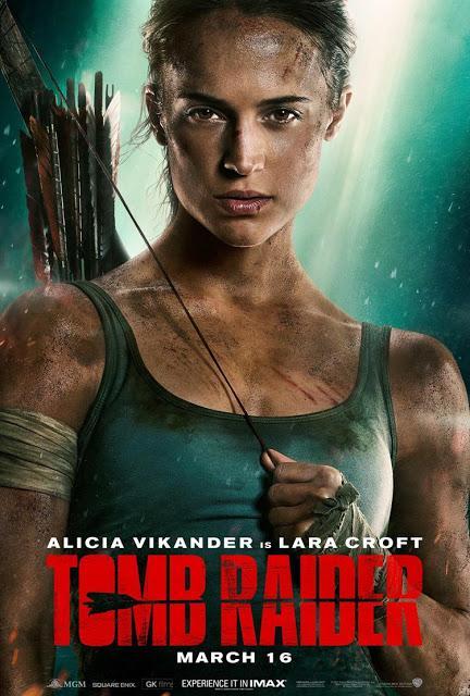 La película de Tomb Raider estrena nuevo póster