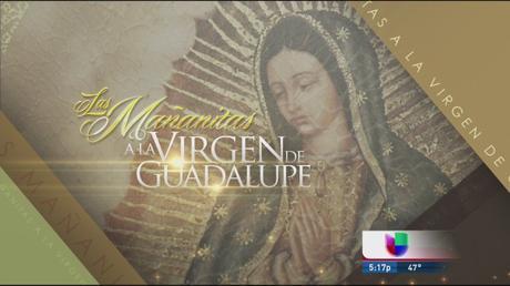 Las mañanitas a la Virgen de Guadalupe por Univisión en Vivo – Lunes 11 de Diciembre del 2017