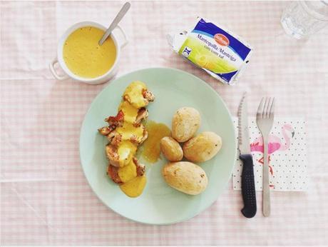 Fiesta en las papilas - Solomillo con salsa de pimientos y tomate.