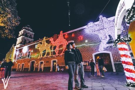 villa navideña en atlixco