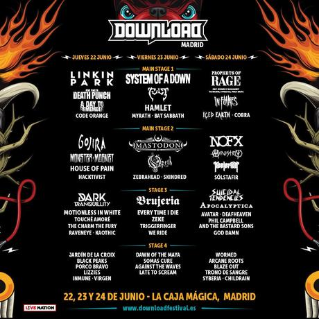 Los cantantes Ozzy Osbourne, Judas Priest y Marilyn Manson, estarán en el Download Madrid