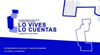 """Convocatoria del IX Concurso de Relatos y Viajes Solidarios """"Lo vives, lo cuentas"""" 2018"""