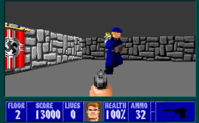 Wolf 3d - El precursor de los videojuegos mata-nazis