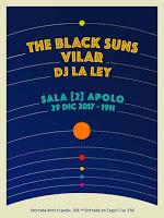 Concierto de The Black Suns y Vilar en La 2 de Apolo