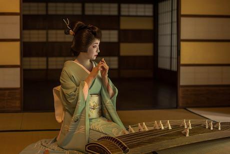 Koto, la cítara japonesa