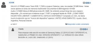 Samsung J2 (2017) una vergüenza, peor de lo peor.