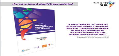 """Lanzan Manual de Farmacovigilancia para Pacientes: """"empoderarse para saber cómo reportar"""""""