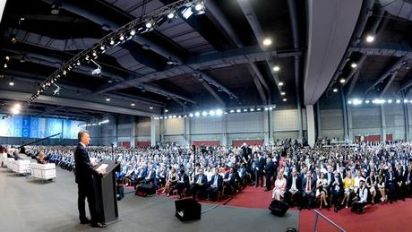 Mauricio Macri, frente a funcionarios de todo el mundo en la cumbre de la OMC
