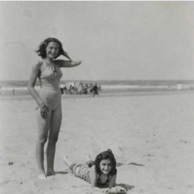 Ana Frank iba a la playa