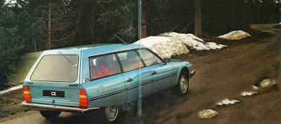 Citroën y su Break CX