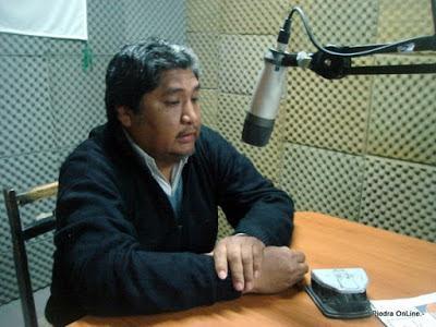 Ernesto Romero de SITRAMUPA cuestiono a la intendenta Adriana Figueroa del MPN