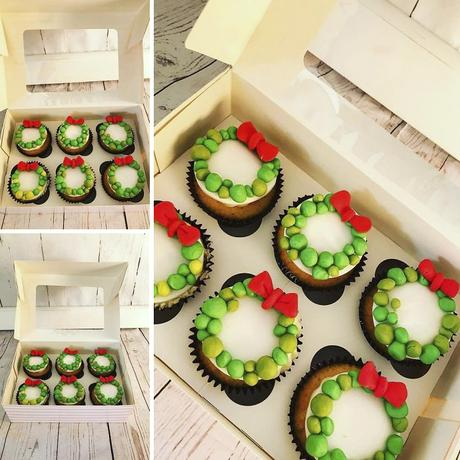 Ideas de decoración de Cupcakes para sorprender a tus invitados esta cena de Navidad