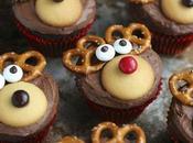 Ideas decoración Cupcakes para sorprender invitados esta cena Navidad