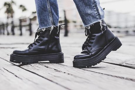 Military Platforms Boots