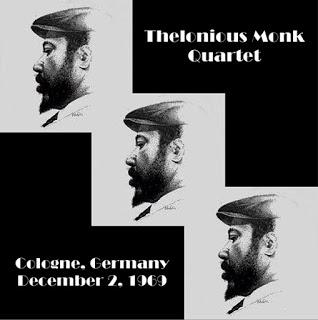 THELONIOUS MONK: Thelonious Monk Quartet, Cologne, Germany December 2, 1969