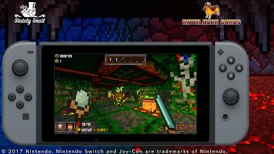'One More Dungeon', un 'roguelike' en primera persona y gráficos pixelados. ¿Esto cómo puede ser?