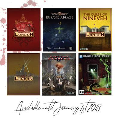 Shadows Over Bogenhäfen en PDF y más cosas de Cubicle 7 Drive Thru RPG