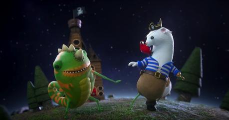 El anuncio navideño de Microsoft hecho en 3D está lleno de entrañables criaturas