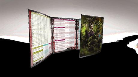 Oferta para GMs de Grim & Perilous Studios: Pantalla para Zweihäder RPG rebajada.