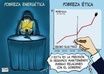 Pobres de energías