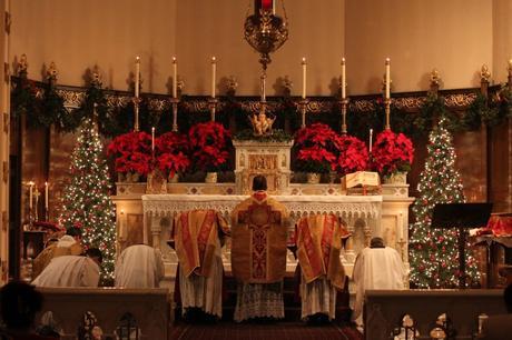 La tradicional 'Misa del Gallo' que se celebra en Nochebuena