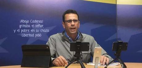 Capriles sobre posible candidatura de Mendoza: No es lo mismo dirigir una empresa que un país #Venezuela