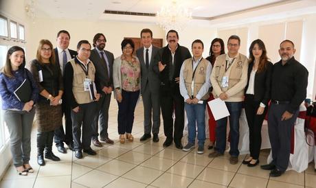 Nasralla entrega a OEA y a UE pruebas de fraude electoral