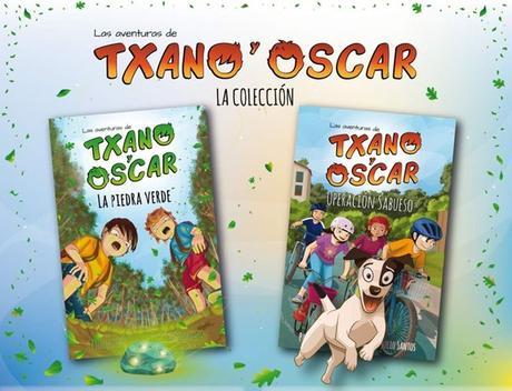 Regala Libros Gratis a tus hijos de Las Aventuras de Txano y Oscar