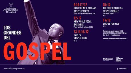 XXIII FESTIVAL LOS GRANDES DEL GOSPEL MADRID 2017