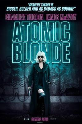 Nos Vamos al Cine, cartelera, película, cartel, cine, atomic  blonde, atomica, comic, novela gráfica, charlize theron, espionaje,