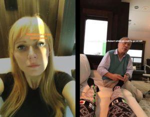 Gwyneth Paltrow en el rodaje de Avengers 4