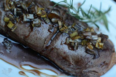 Magret de pato en salsa agridulce 02