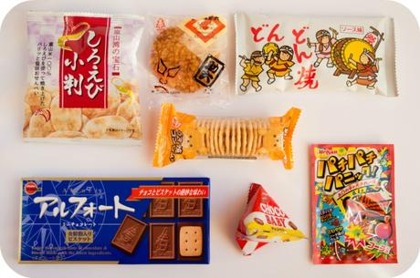 Japan Funbox - Probando productos japoneses