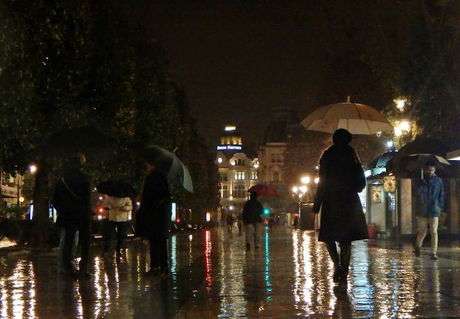 Con paraguas
