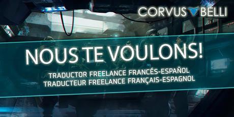 Traducteurs français pour Corvus Belli: Offre d'emploi