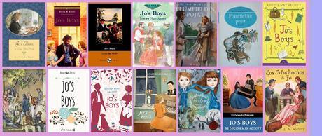 portadas del libro Los muchachos de Jo