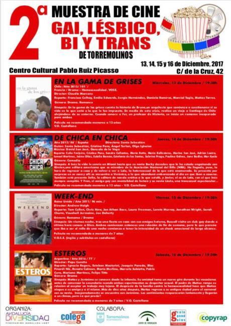 2ª Muestra de Cine Gai, Lésbico y Trans en Torremolinos