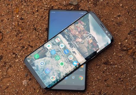 Samsung Galaxy S8 + y Xiaomi Mi Mix 2